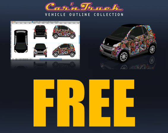 car templates free