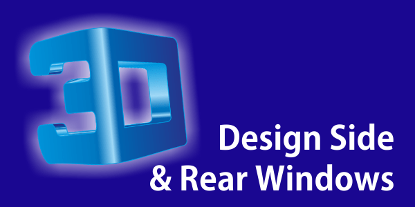Design of Side and Rear Windows
