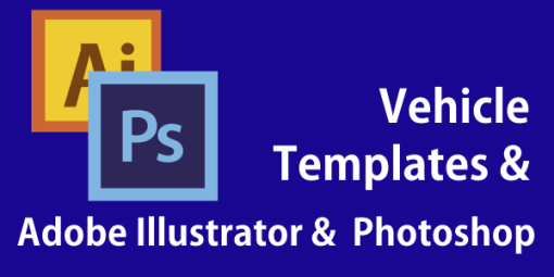 Preparing Vehicle Templates in Adobe Illustrator and Adobe Photoshop