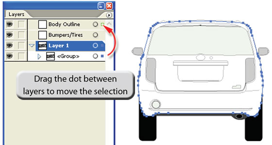 Preparing Vehicle Template For PhotoShop
