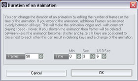 Animation duration for vehicle template rendering