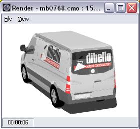 vehicle template window rendering