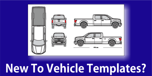 Vehicle Templates Vehicle Wraps Vehicle Outline Collection - Car wrap templates