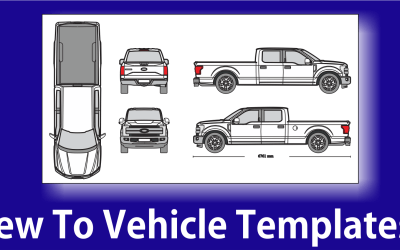 Using Vehicle Templates to Design Vehicle Wraps