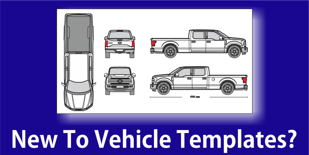 Designing Vehicle Wraps From Vehicle Templates