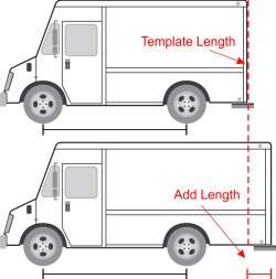 Modify Vehicle Template Length