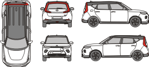 KIA Soul 2019 vehicle template