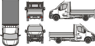NISSAN NV 400 2010 template