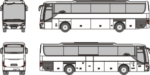 SETRA S 415 GT HD 2008 template