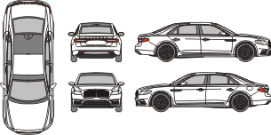 LINCOLN Continental 2017 Vehicle template