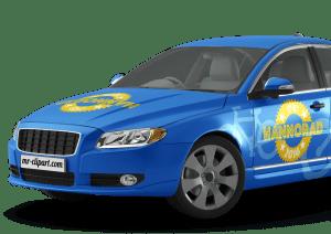 3D Car Vehicle Wrap Rendering