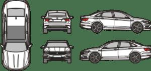 VOLKSWAGEN Jetta 2018 Vehicle Template