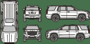 CADILLAC Escalade V 2021 Vehicle Template