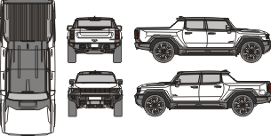 HUMMER EV 2021 Vehicle Template