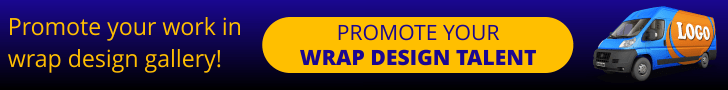 Promote work in wrap design gallery