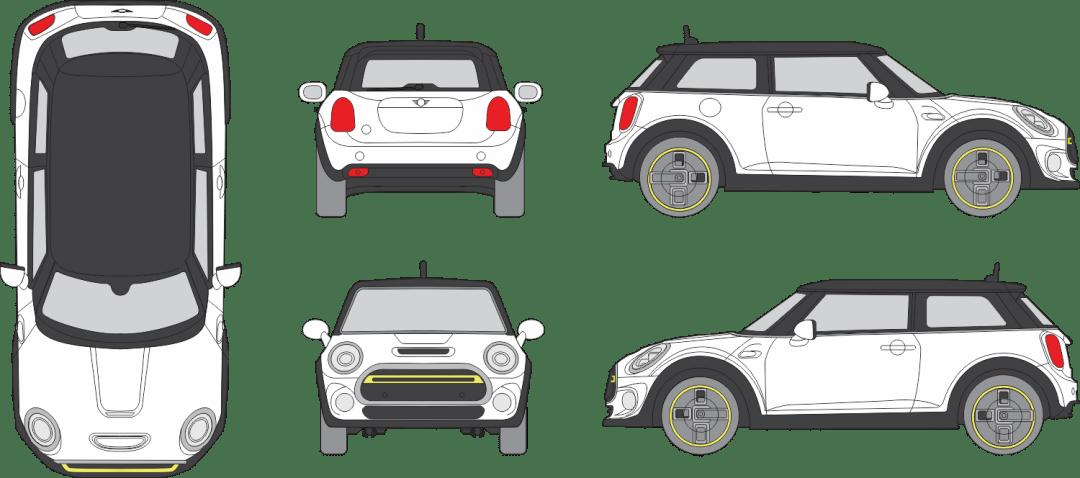 Mini Cooper Se 2020 Vehicle Template