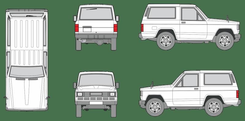 Nissan Patrol 1997 Vehicle Template