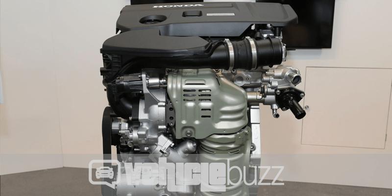 photograph of new 2018 Honda Accord Engine