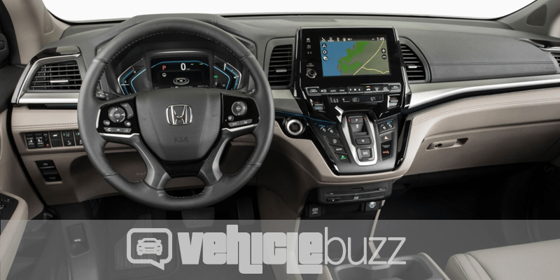 image of 2018 Honda Odyssey view from driver's seat