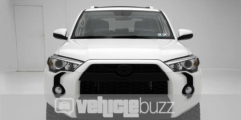 white 2018 Toyota 4Runner