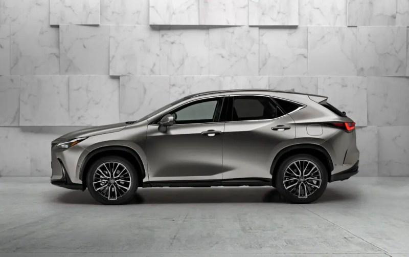 New Lexus NX 2021