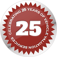 25 years of Vehicle Appraisers