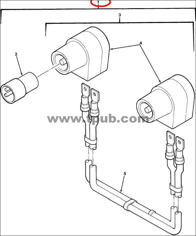 2590-00-148-7961 Cable Kit, Special Power