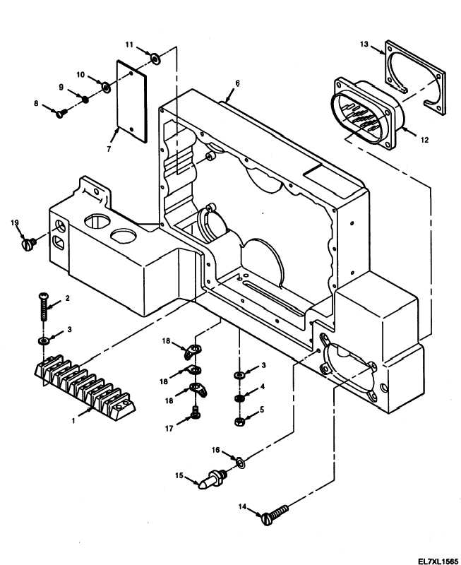 Figure 4-13. Disassembled View of Power Supply Chassis