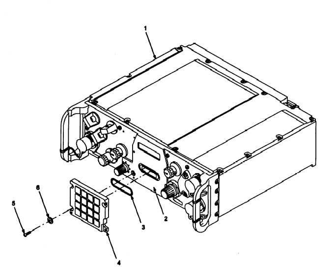 Figure 12-14. RCU Front Panel Keypad