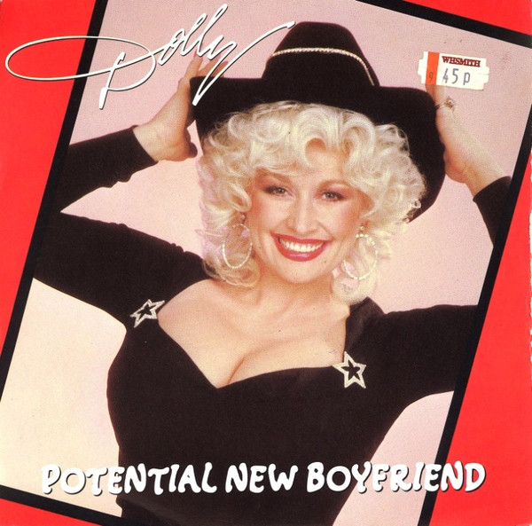 "Cover for the standard single for ""Potential New Boyfriend."" Photo obtained from Discogs."
