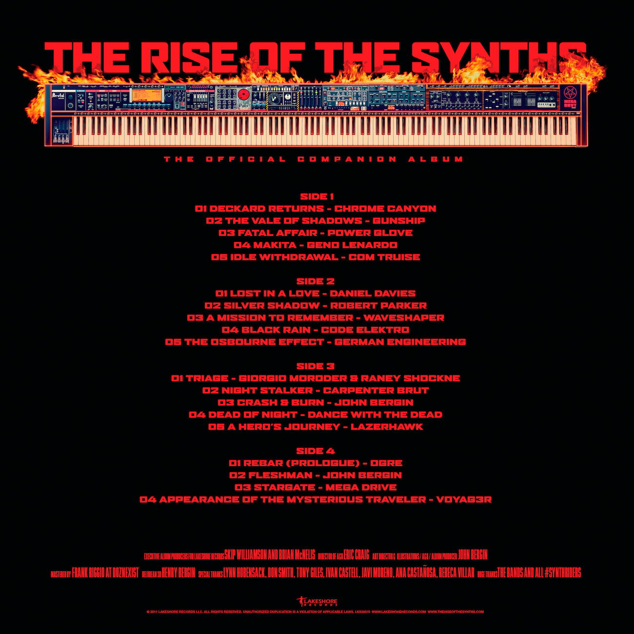 The Rise of the Synths Vinyl Companion Album: Pre-Order It Now