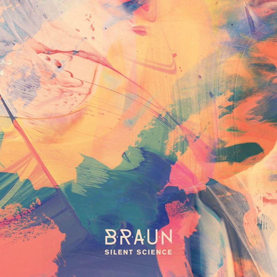 Covert art for BRAUN's exquisite 'Silent Science' album.