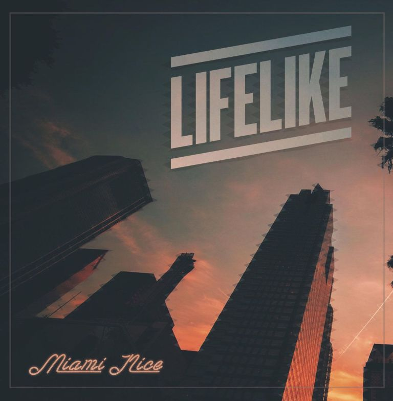 Cover art for Lifelike's 'Miami Nice.' Art by Tokyo Rose.
