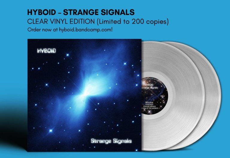 hyboid strange signals vinyl