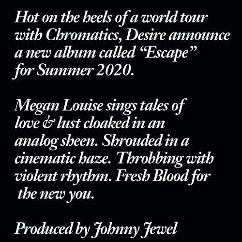 desire escape info