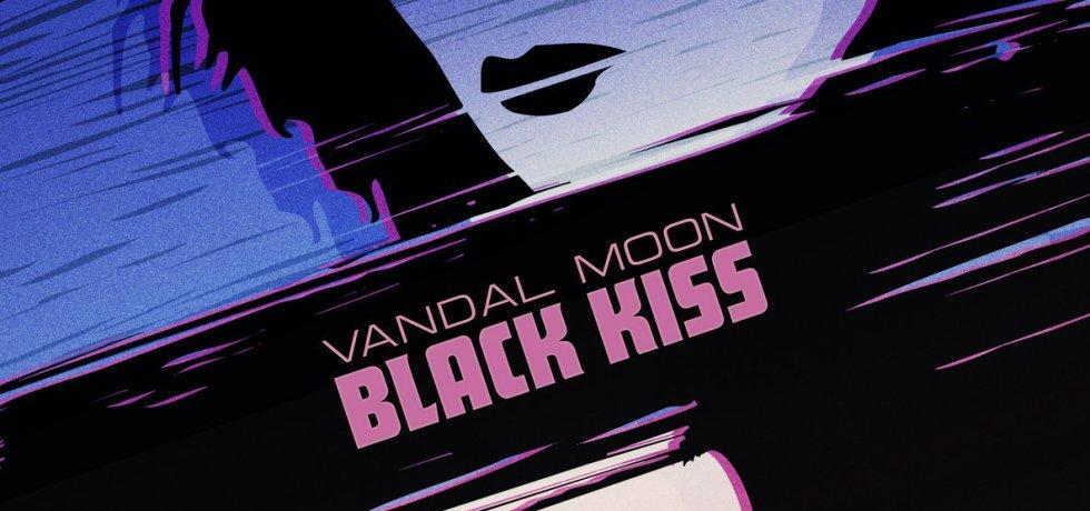 vandal moon black kiss cover