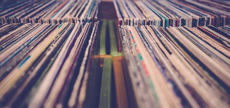 vinyl records and remixes