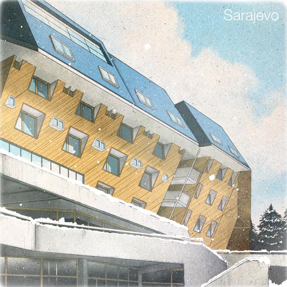 Betamaxx Sarajevo album Trina Richie Hines