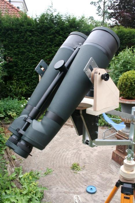 Carls Astronomy and Telescope Making page  Binocular mount