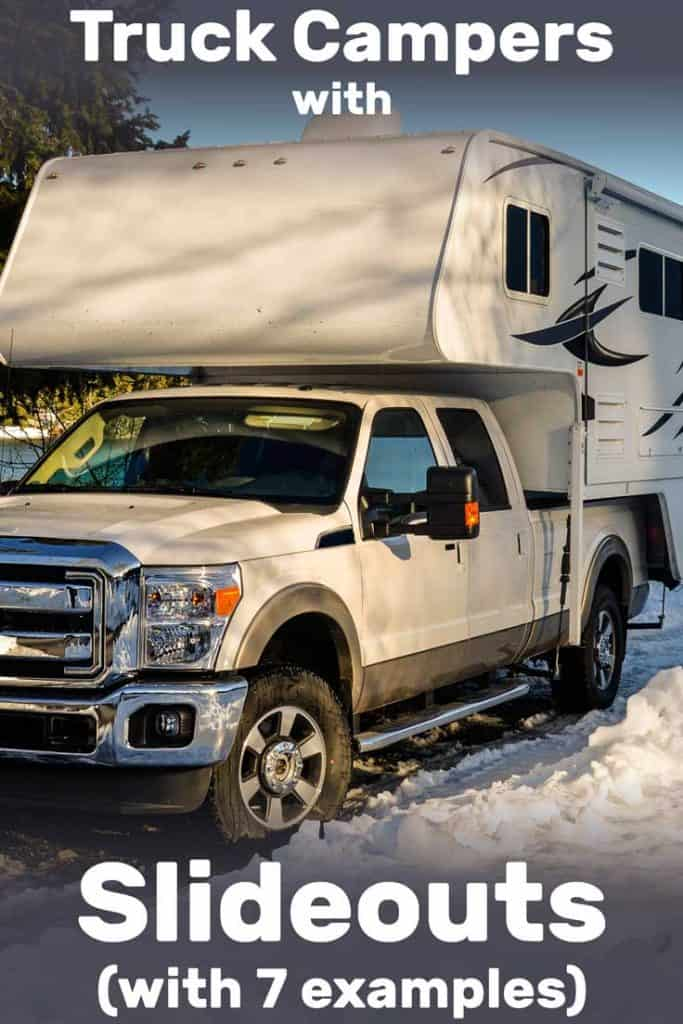 Truck And Camper Combo For Sale : truck, camper, combo, Truck, Campers, Slideouts, (With, Examples)