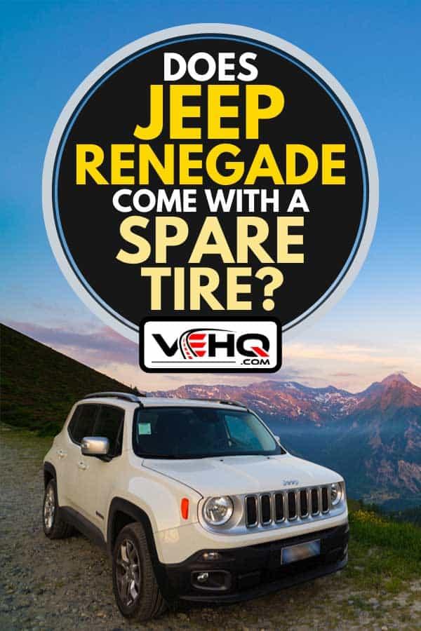Jeep Renegade Bolt Pattern : renegade, pattern, Renegade, Spare, Tire?