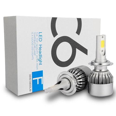 migliori lampade H7 LED per auto in commercio