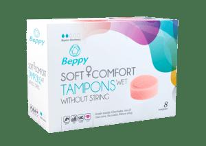 Beppy Soft Comfort Tampons Wet 8 stuks