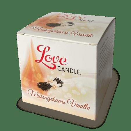Loveglide Massage Oil Candle vanille