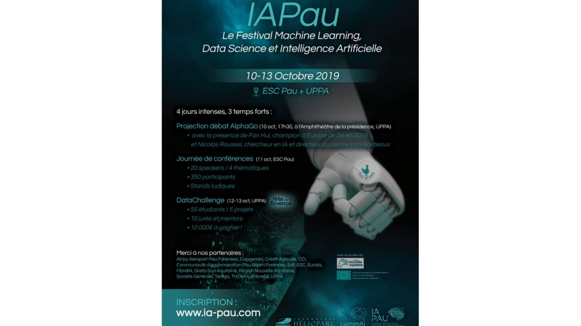 Festival Machine Learning – Data science et Intelligence artificielle 13 octobre 2019 – Unidivers