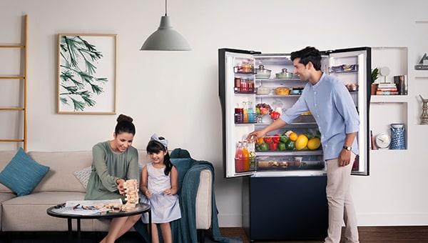 Les réfrigérateurs Panasonic alimentés par IA garantissent un refroidissement optimal et des économies – 45 Secondes
