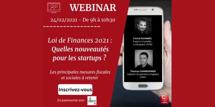 Loi de Finances 2021 : Quelles nouveautés pour les startups ? Online Paris – Unidivers