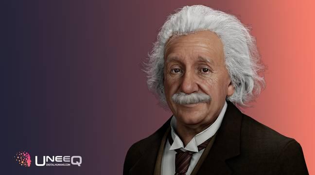 Un sosie digital d'Albert Einstein capable de vous répondre grâce à l'intelligence artificielle – 20 Minutes