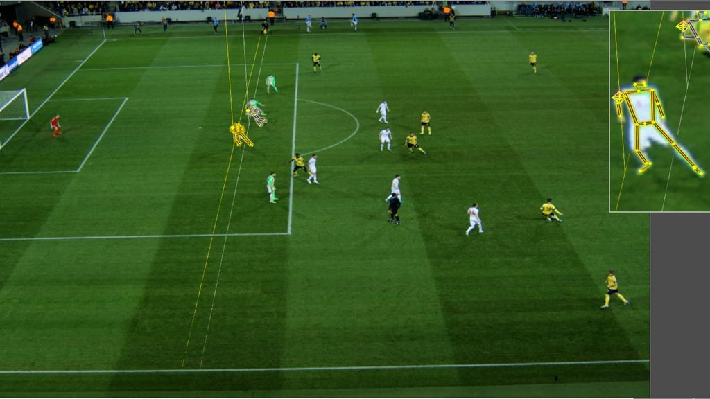 Football : l'intelligence artificielle remplacera-t-elle bientôt les arbitres ? – Science et Vie