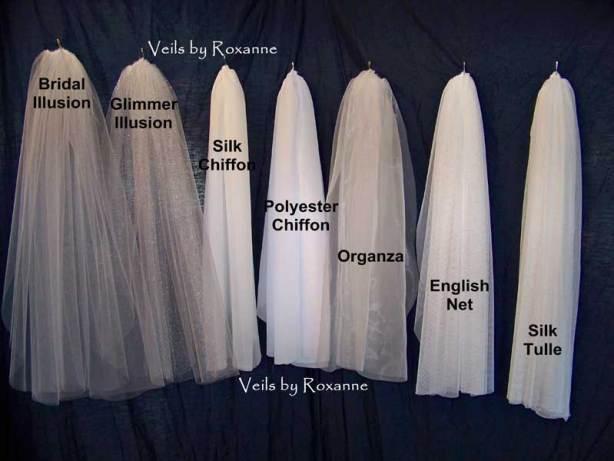 wedding veil fabrics